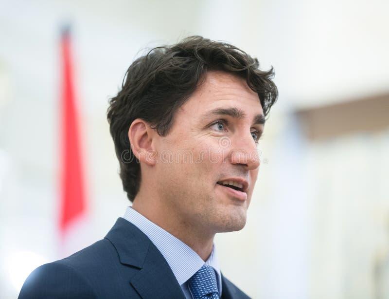 Pierwszorzędny minister Kanada Justin Trudeau zdjęcie royalty free