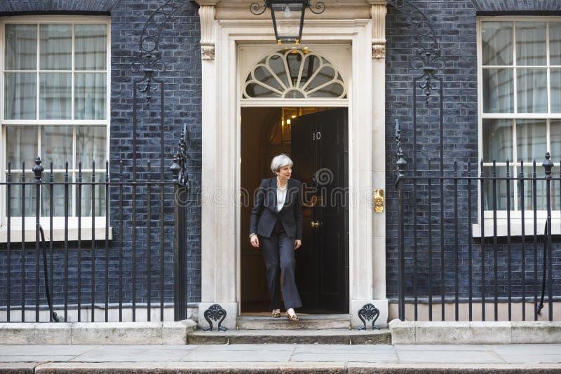 Pierwszorzędny minister Zjednoczone Królestwo Theresa May zdjęcia royalty free