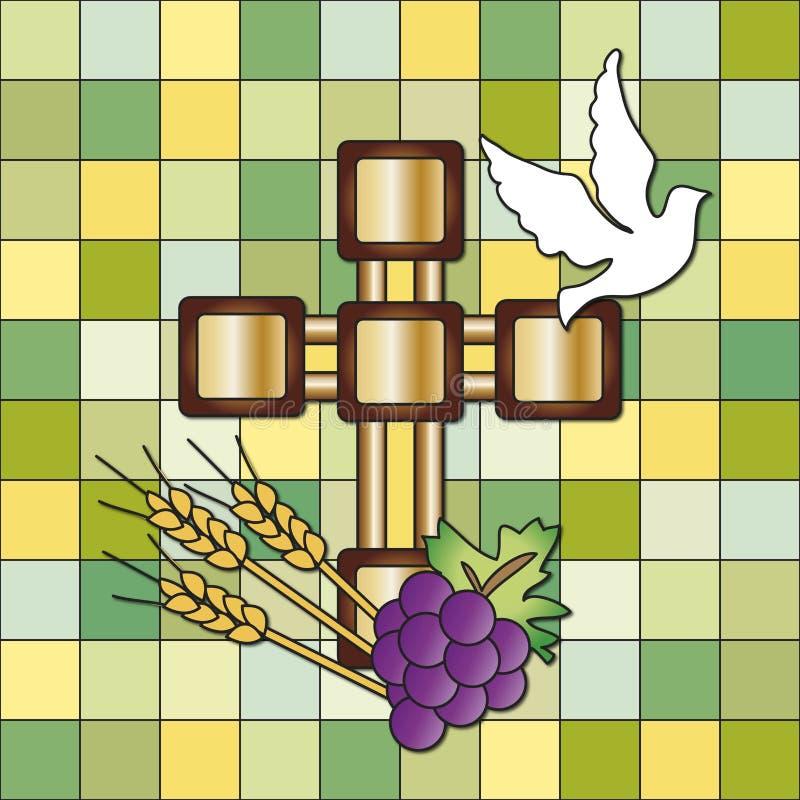Pierwszy communion ilustracji