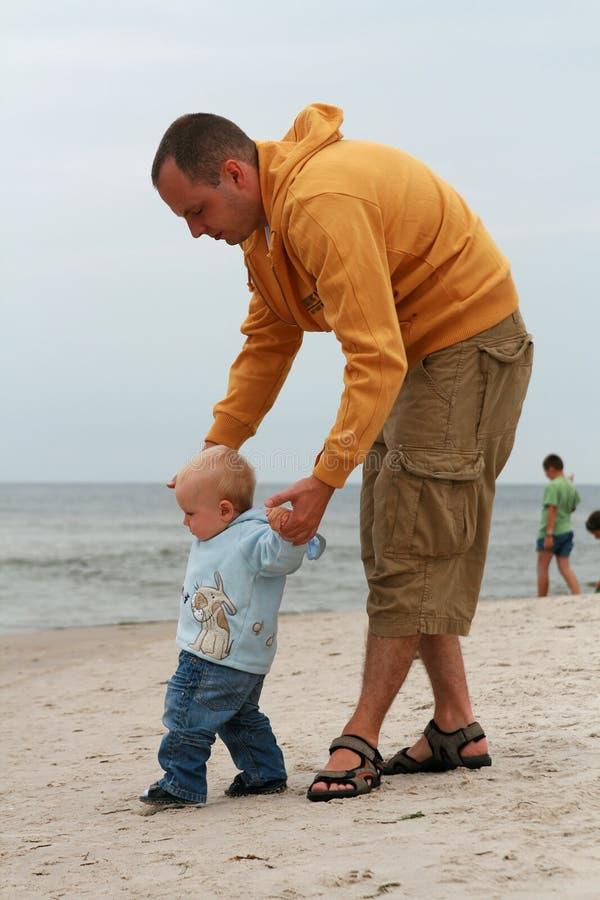 pierwszy dziecko kroki s obrazy royalty free
