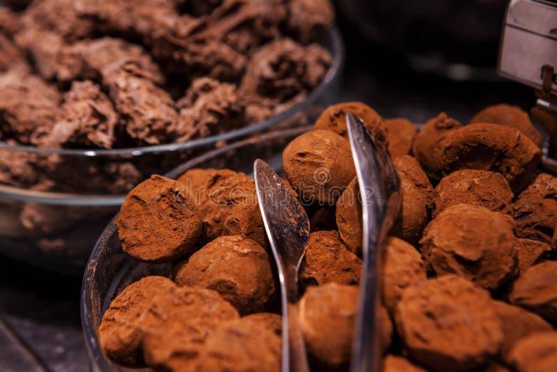 Pierwszy ilość Belgium czekolada zdjęcie royalty free