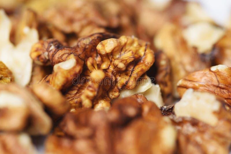 Pierwszy ilości Nutmeat obrazy stock