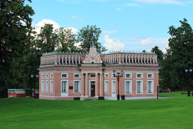 Pierwszy kawaleria korpusy. 1784-1785 rok. Tsaritsyno park. Mosco obrazy royalty free