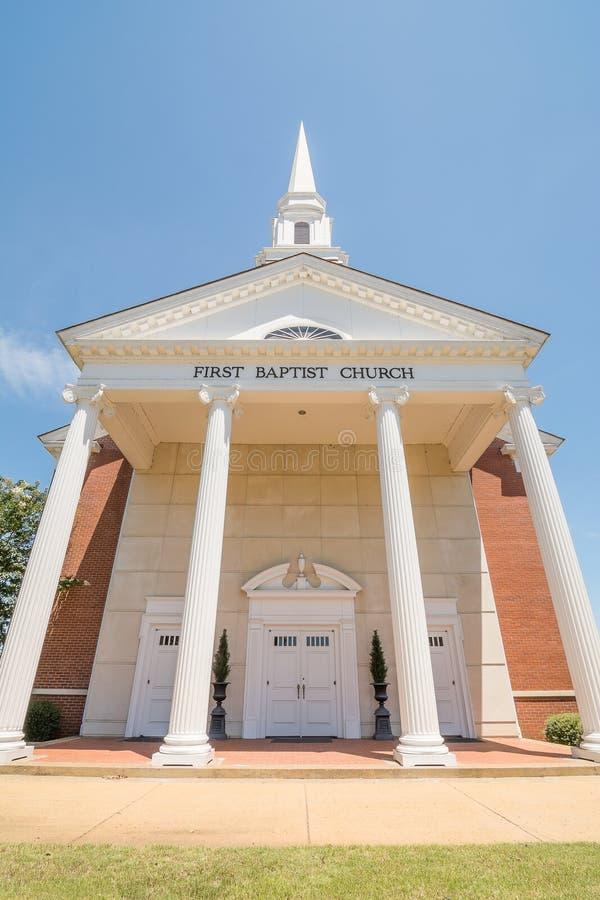 Pierwszy kościół baptystów obrazy stock