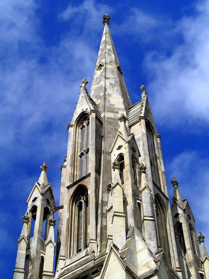 Pierwszy kościół Otago, Dunedin zdjęcie stock