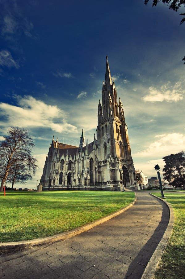 Pierwszy kościół Otago Dunedin Nowa Zelandia obraz royalty free