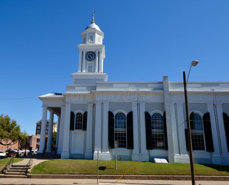 Pierwszy kościół prezbiteriański Natchez obrazy stock