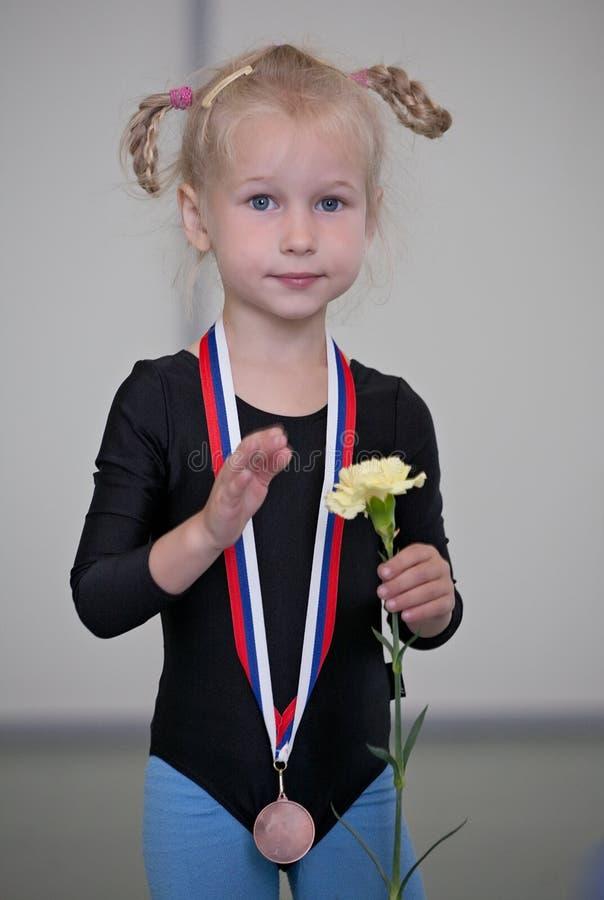 pierwszy medal obraz royalty free