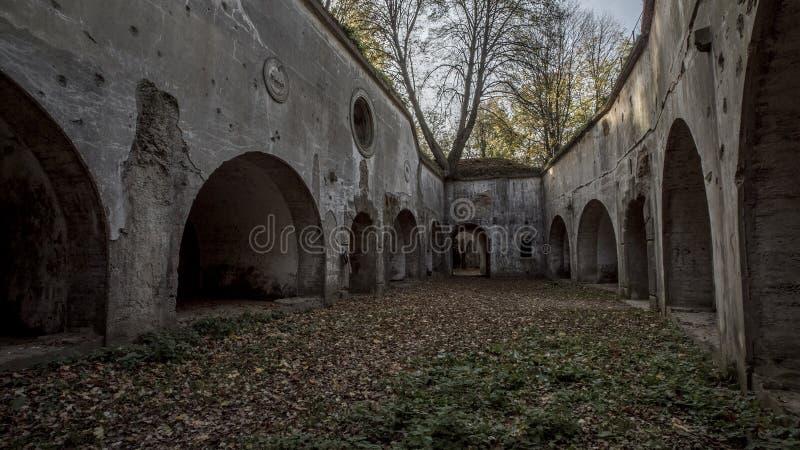 Pierwszy wojna światowa fort, Polska fotografia stock