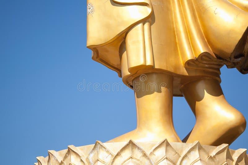 Pies de Buda imagen de archivo