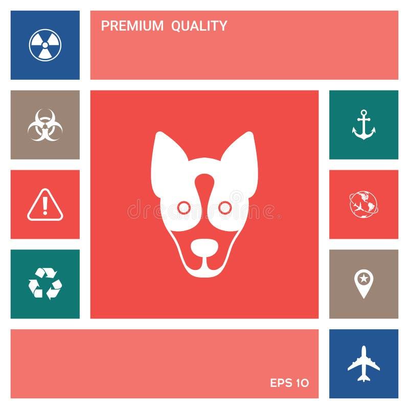 Pies - logo, symbol, gacenie znak elementy projektów galerii ikony widzą odwiedzić twój więcej moich piktogramy proszę ilustracji