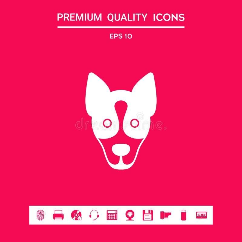 Pies - logo, symbol, gacenie znak Graficzni elementy dla twój projekta ilustracji