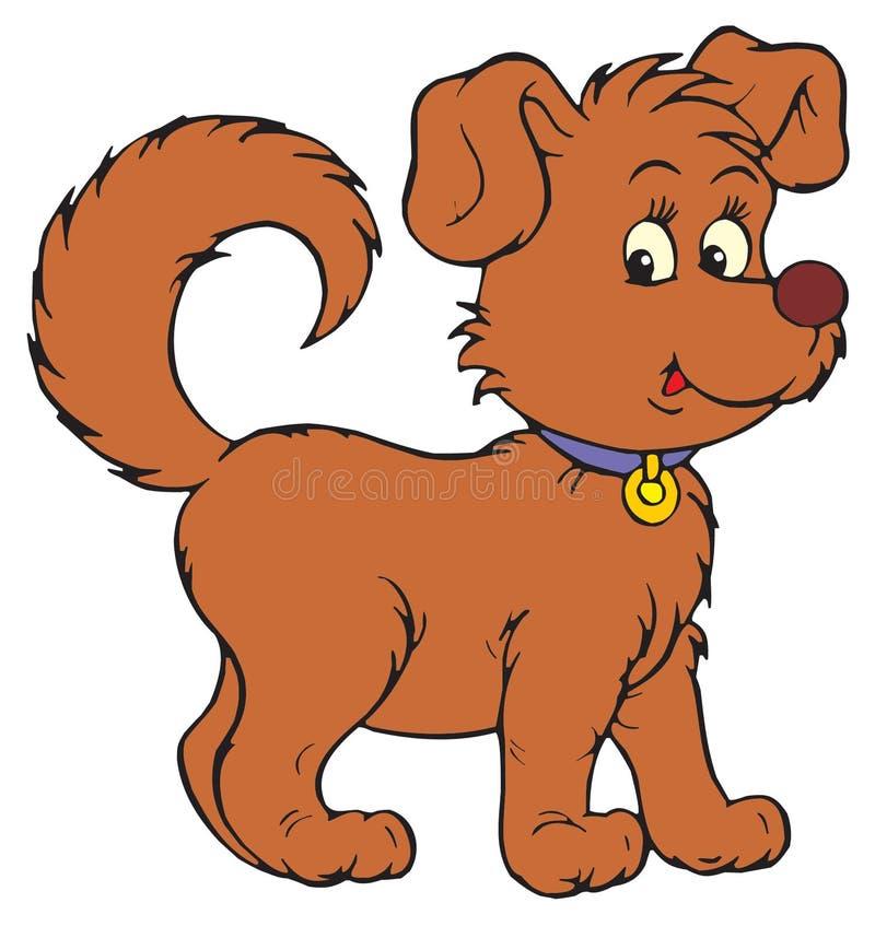 Pies (wektorowa sztuka) ilustracja wektor