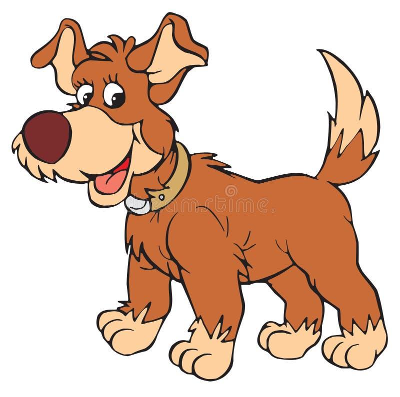 Pies (wektorowa sztuka) ilustracji