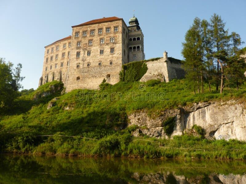 Pieskowa SkaÅ '城堡 免版税库存照片