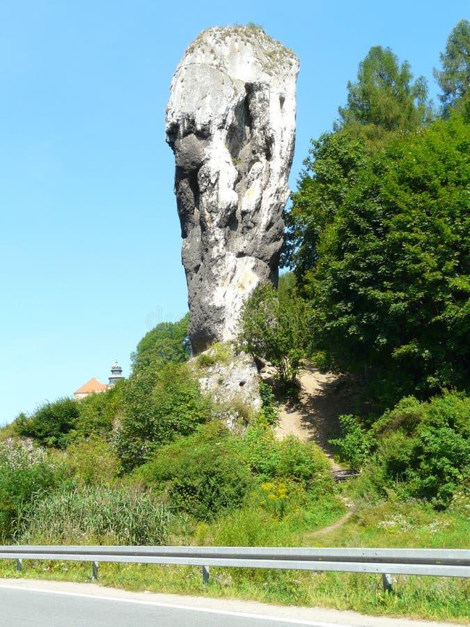 PIESKOWA SKALA, de Foelie van POLEN - Hercules-in Krakau-Czestochowa Upla royalty-vrije stock afbeelding
