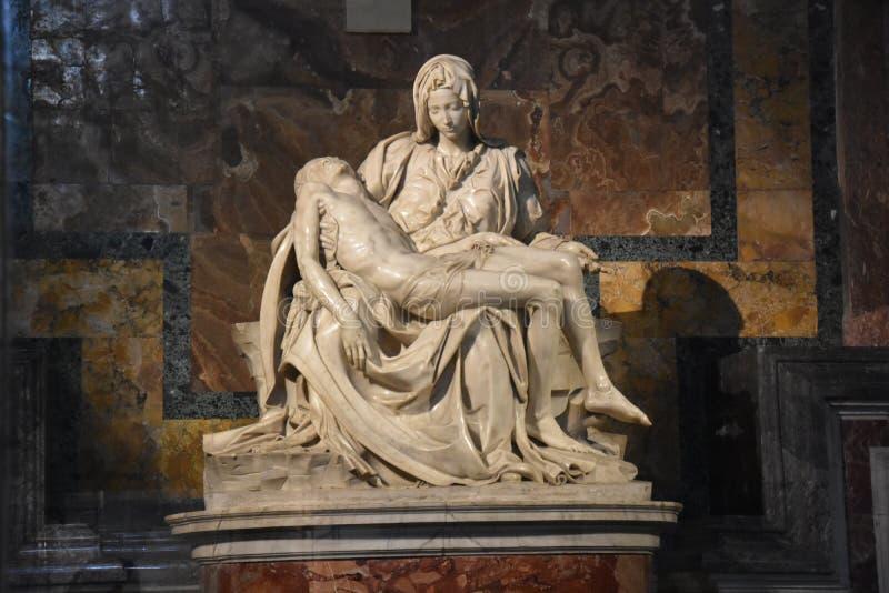 Pietà por Miguel Ángel fotos de archivo libres de regalías