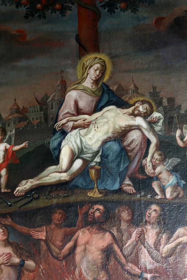 Pieta arkivbild