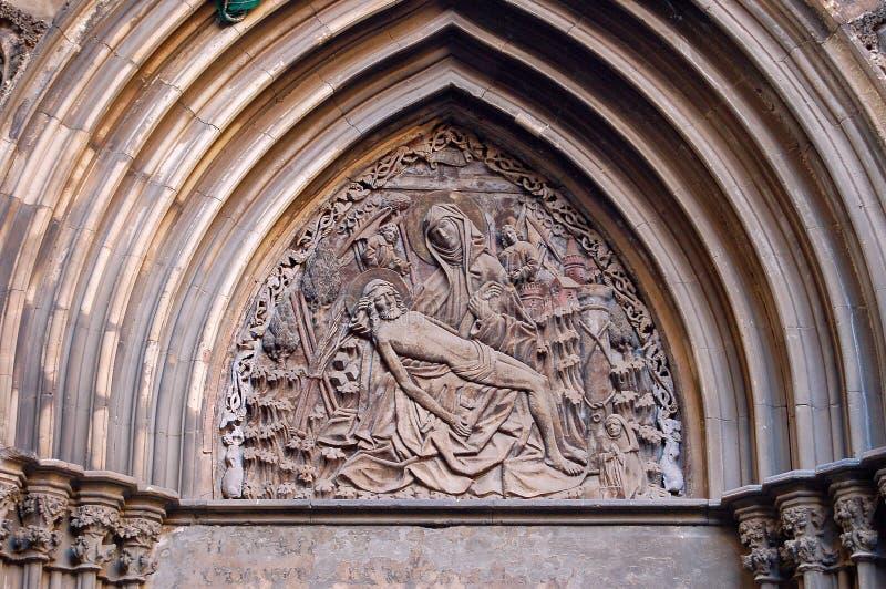 Pieta - Barcellona fotografie stock libere da diritti