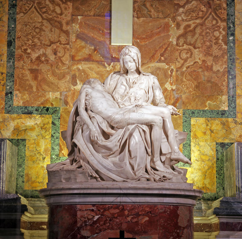 Free Pieta By Michelangelo Royalty Free Stock Images - 19645359