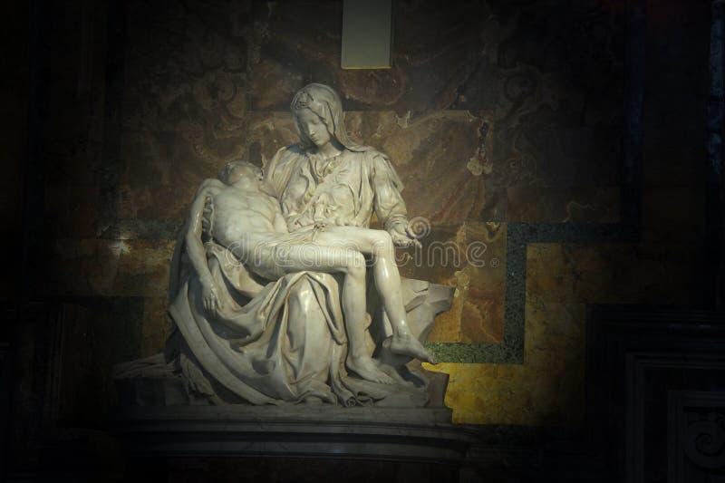 Pieta La в базилике Питер святой стоковые фото