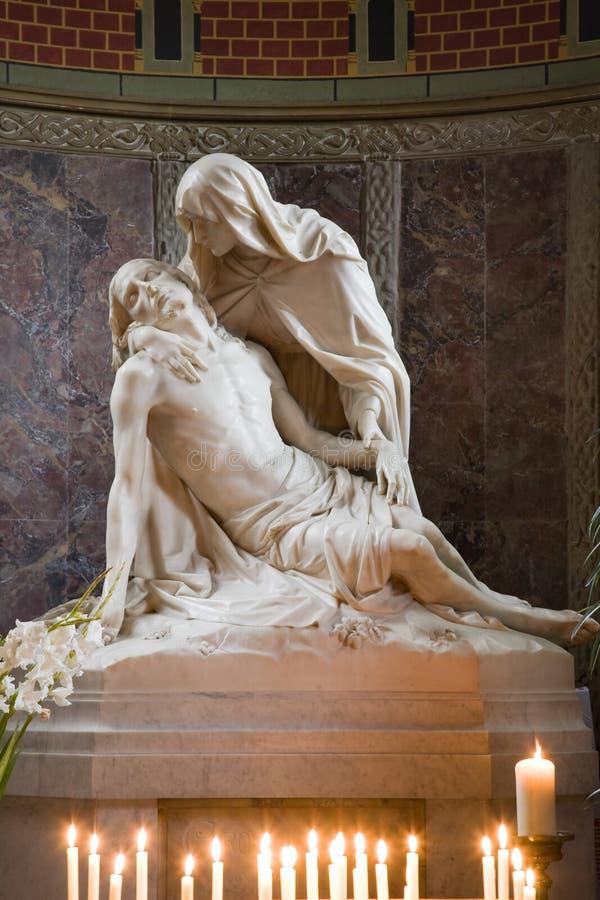 pieta statua obraz royalty free