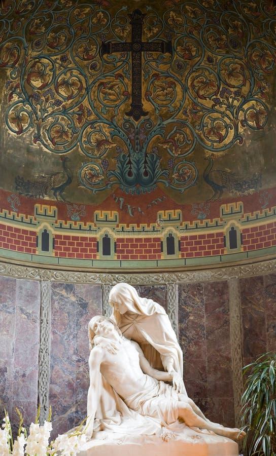 Pieta statue royalty free stock photos