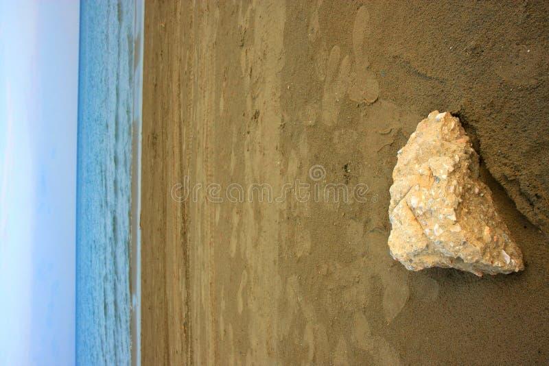 Pietra del mare immagine stock