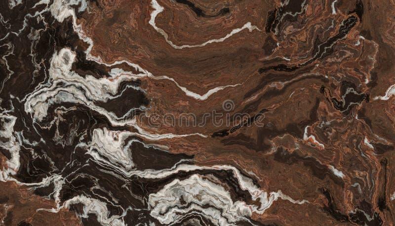Pietra del marmo della vena di Brown fotografie stock libere da diritti