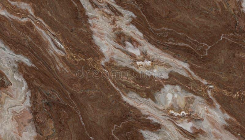 Pietra del marmo della vena di Brown immagini stock