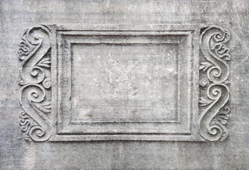 Pietra della parete della pagina vecchia. fotografia stock