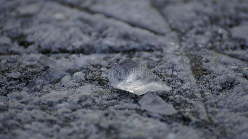 Pietra di ghiaccio fotografie stock libere da diritti