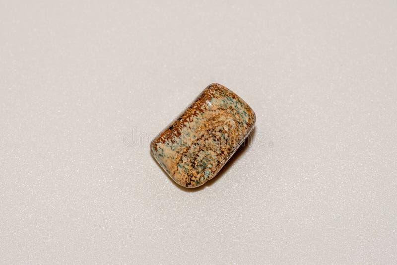 Pietra preziosa dell'occhio delle tigri Bella pietra preziosa di cristallo naturale Macro colpo immagini stock