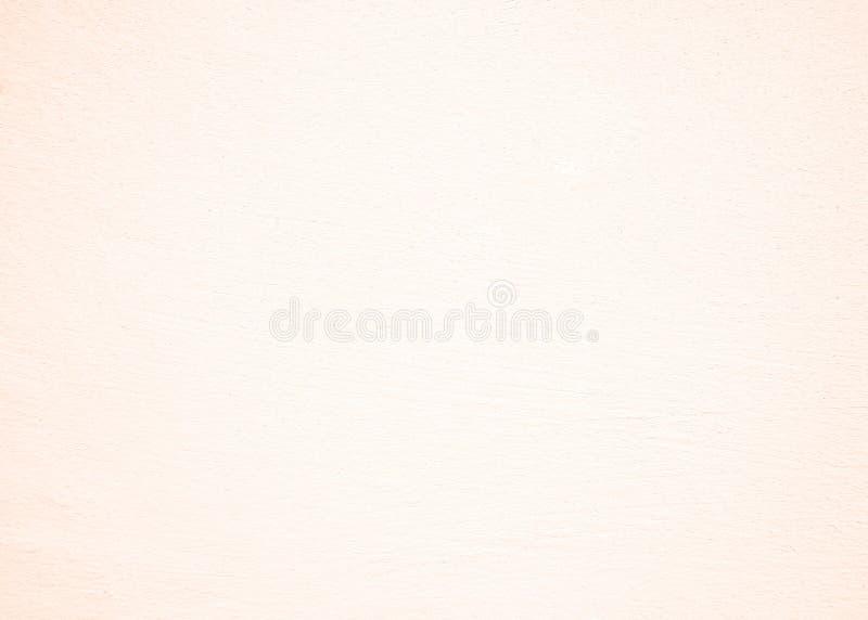 Pietra ruvida pastello bianca concreta, di struttura del cemento della crepa di seppia di Brown parete dello stucco intonacata ro fotografia stock libera da diritti