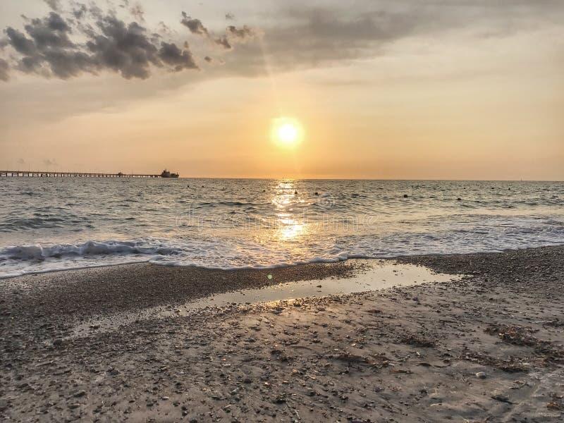 Pietrabianca-Strand stockfotografie