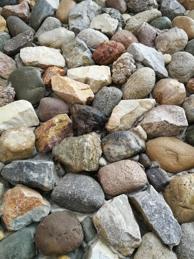 pietre fotografia stock