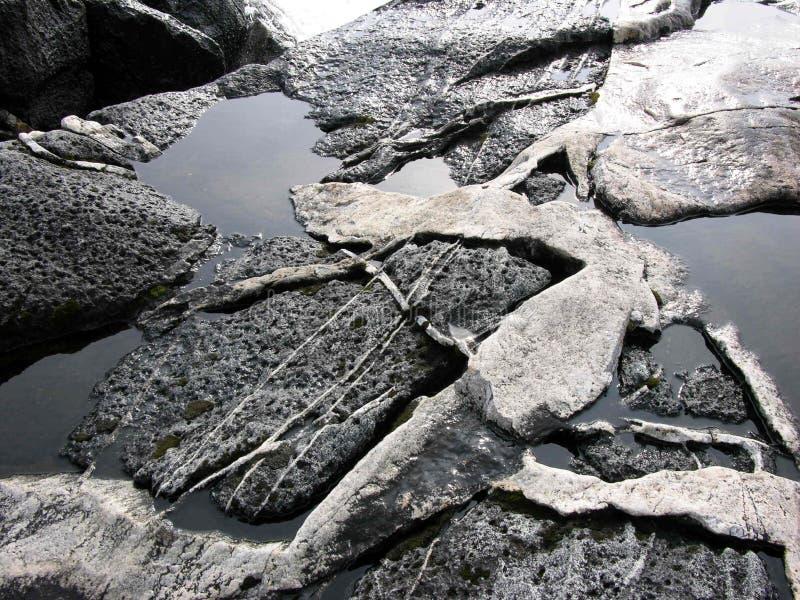 Pietre In Acqua Fotografia Stock