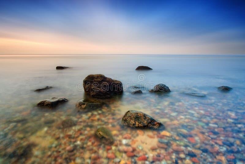 Pietre in Baltico fotografia stock libera da diritti