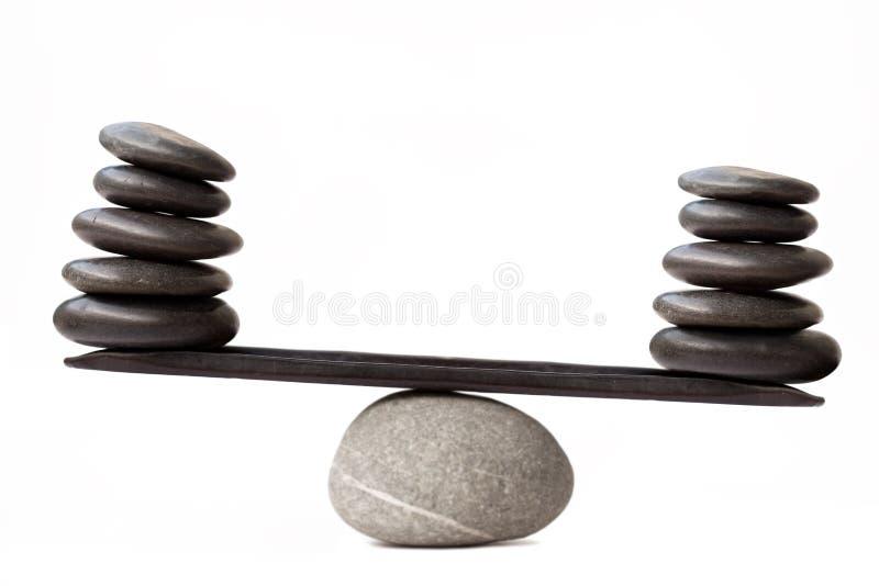 Pietre d'equilibratura fotografia stock libera da diritti