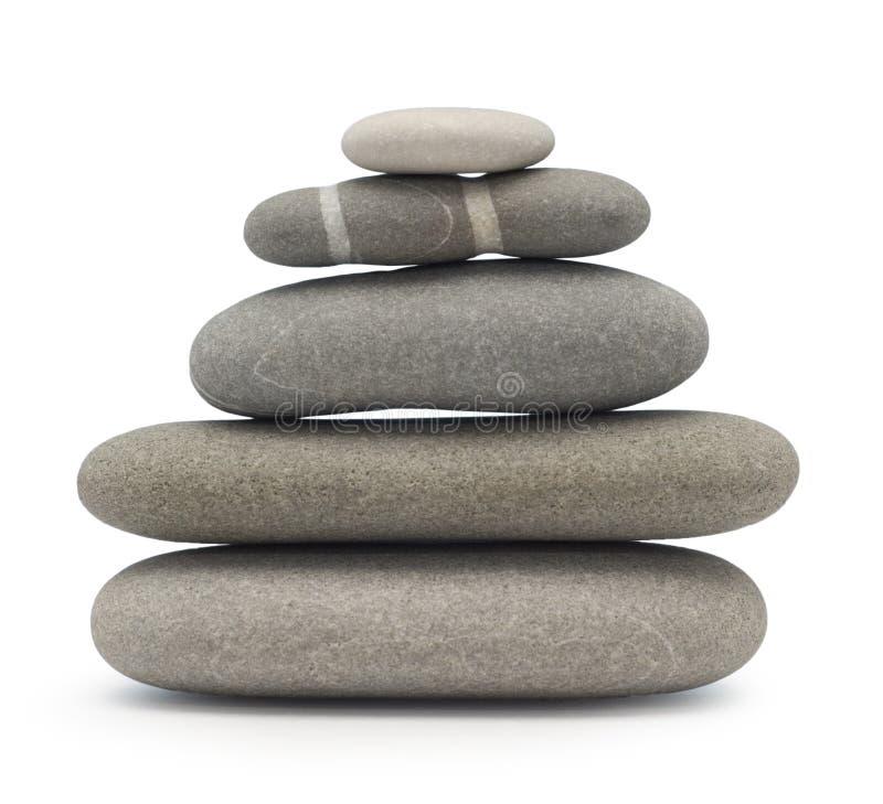 Pietre d'equilibratura immagine stock