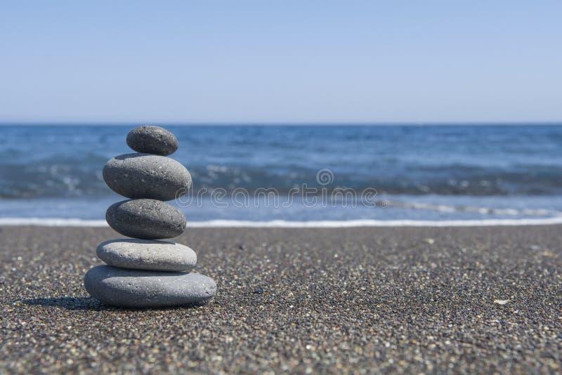 Pietre dell'equilibrio fotografia stock