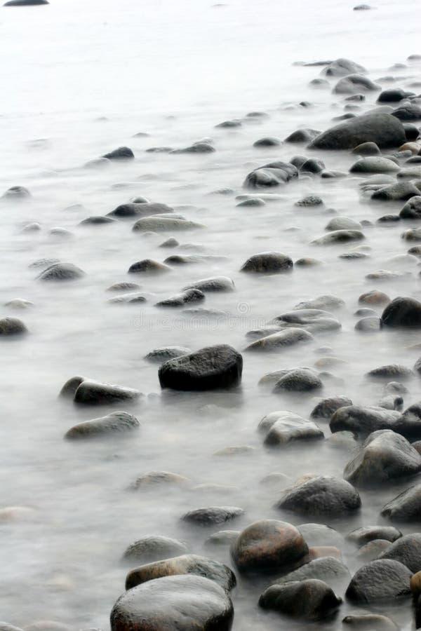 Pietre dell'oceano fotografie stock libere da diritti