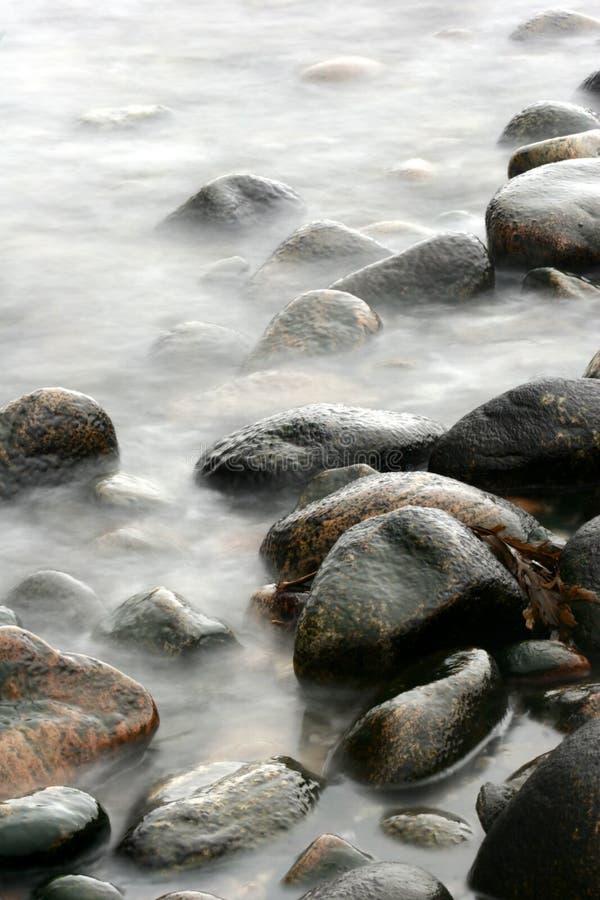 Pietre dell'oceano immagini stock libere da diritti