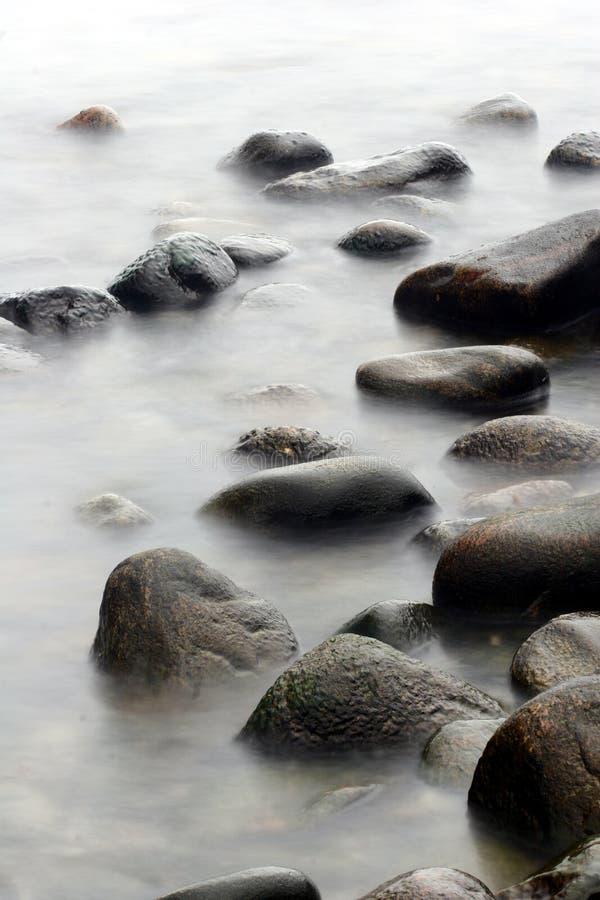 Pietre dell'oceano immagine stock