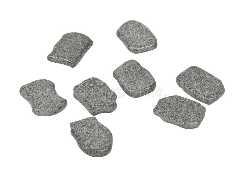 Pietre della runa con spazio per i vostri simboli fotografie stock libere da diritti