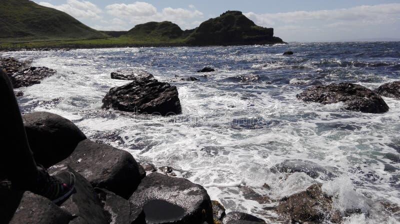 Pietre dello speciale della spiaggia di Dublino fotografie stock libere da diritti