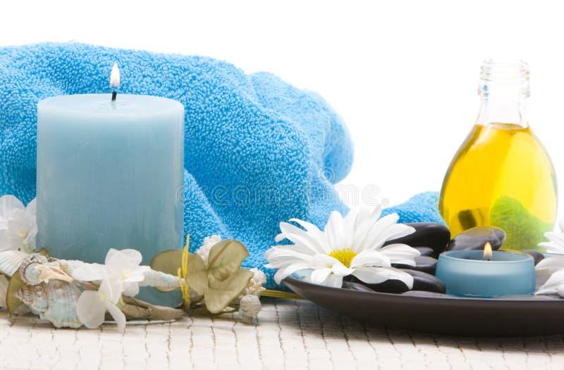 Pietre di massaggio fotografie stock