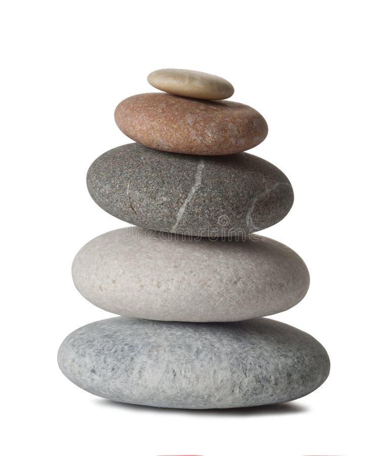 Pietre di zen immagini stock libere da diritti