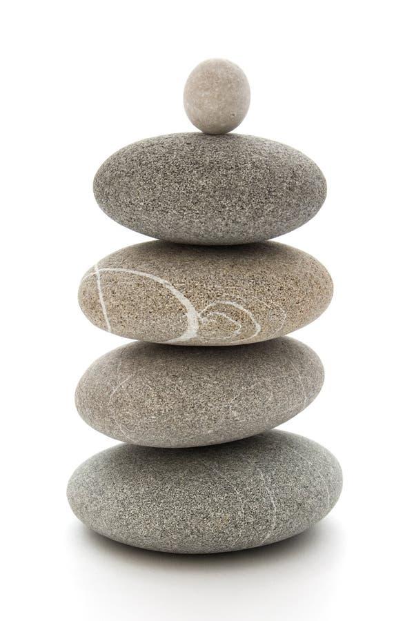 Pietre equilibrate immagine stock