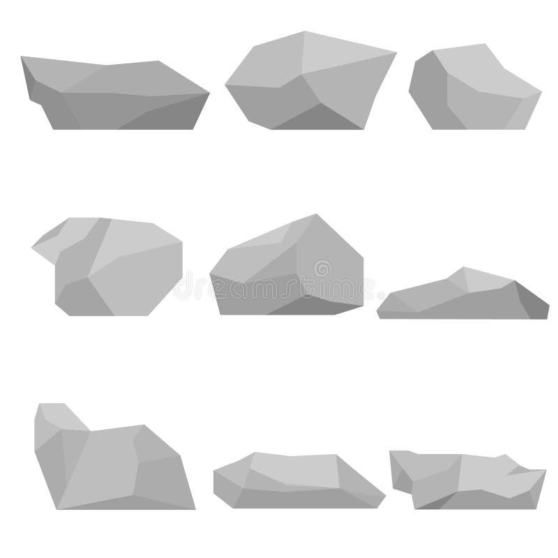 Pietre messe illustrazione di stock